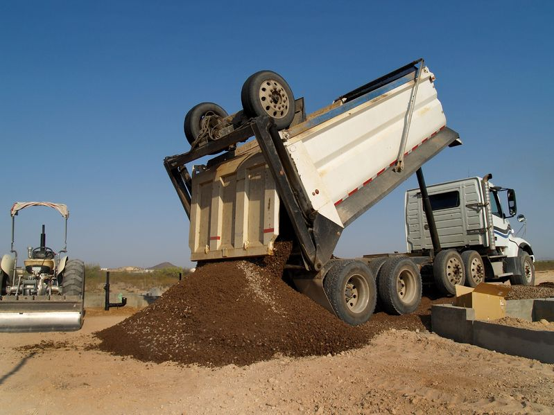 Inland Empire, CA. Dump Truck Insurance